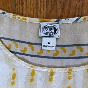 Lucky Brand Tops - Irving & Fine Lucky Brand Silk Top